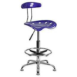 Flash Furniture Drafting Stool with Tractor Seat