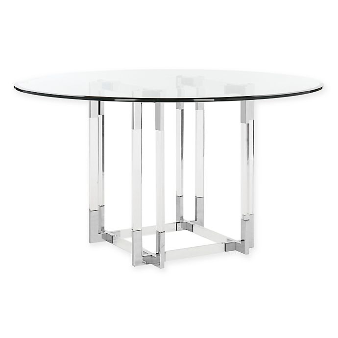 Safavieh Couture Koryn Dining Table In Silver Bed Bath Beyond