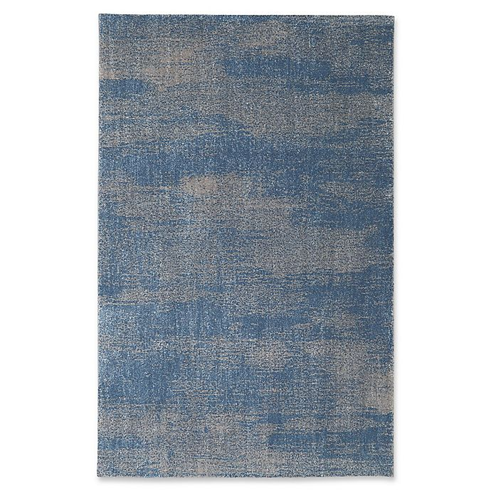 Alternate image 1 for Mohawk Home® Berkshire Chilmark 5-Foot x 8-Foot Area Rug in Blue
