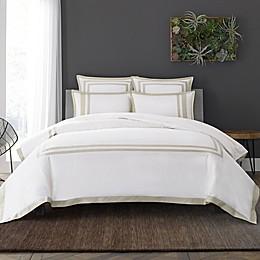 Wamsutta® Hotel Border MICRO COTTON® Duvet Cover Set