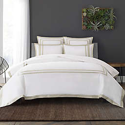 Wamsutta® Hotel Border MICRO COTTON® Duvet Cover Set
