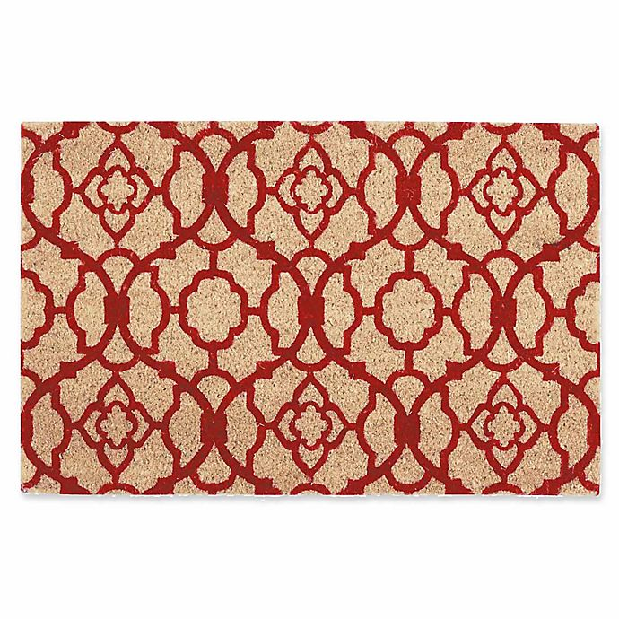 Alternate image 1 for Nourison Waverly Greetings 2' x 3' Door Mat in Red