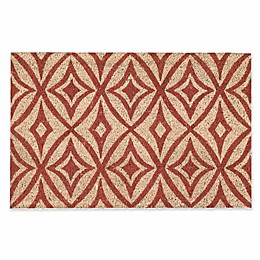 Waverly Greetings Collection for Nourison Centro Henna Door Mat