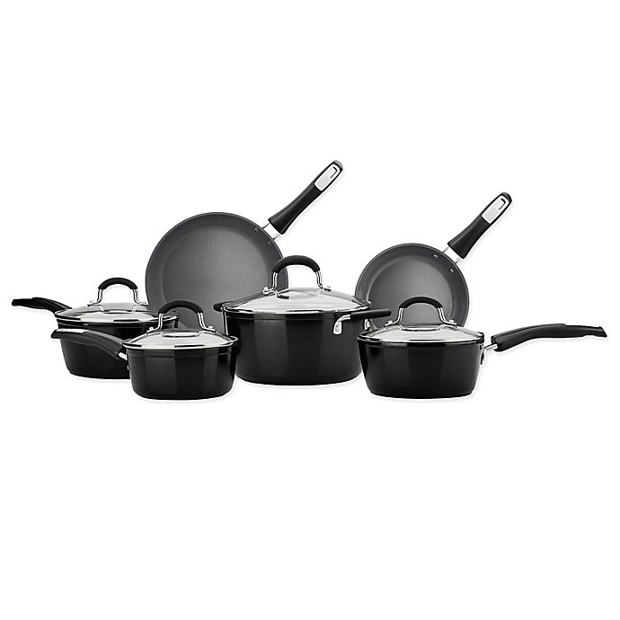 Alternate image 1 for Bialetti® 10-Piece Ceramic Cookware Set