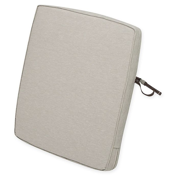 Alternate image 1 for Classic Accessories® Montlake™ FadeSafe 25-Inch x 21-Inch Patio Back Cushion in Grey