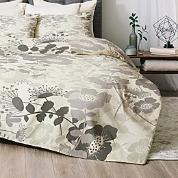 Deny Designs Provencal 1 2-Piece Twin/Twin XL Comforter Set in Grey