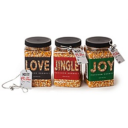 Wabash Valley Farms™ 3-Pack Holiday Big & Yellow Popcorn Kernel Jars