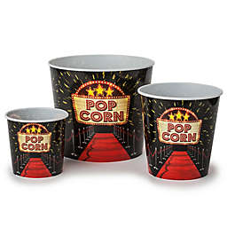 Wabash Valley Farms™ 3-Pack Red Carpet Movie Night Popcorn Tubs