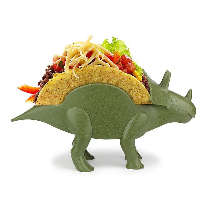 Alternate image 1 for TriceraTaco Taco Holder in Green