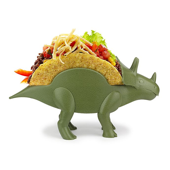 Alternate image 1 for TriceraTaco Taco Holder in Green