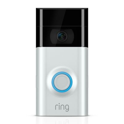 Ring Video Doorbell 2 in Satin Nickel/Venetian