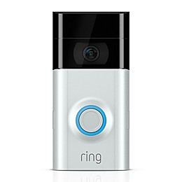 Ring Video Doorbell 2 in Satin Nickel/Venetian