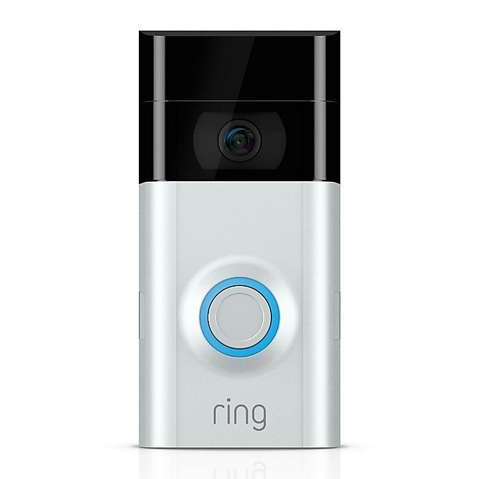 Alternate image 1 for Ring Video Doorbell 2 in Satin Nickel/Venetian