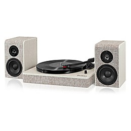 Victrola™ Hampton Record Player with Bluetooth 50-Watt Speakers and 3-Speed Turntable