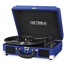 Victrola™ 3-Speed Bluetooth® Portable Suitcase Record Player
