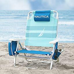 Nautica®  5-Position Beach Chair in Blue