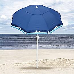 Harbor Beach 7-Foot Beach Umbrella in Whale Blue