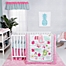 Part of the Trend Lab® Tropical Tweets Crib Bedding Collection