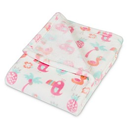 Trend Lab® Tropical Pastel Plush Baby Blanket