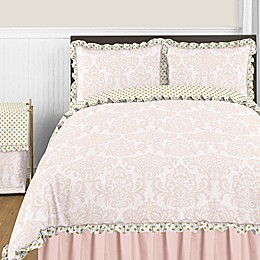Sweet Jojo Designs Amelia Bedding Collection in Pink/Gold
