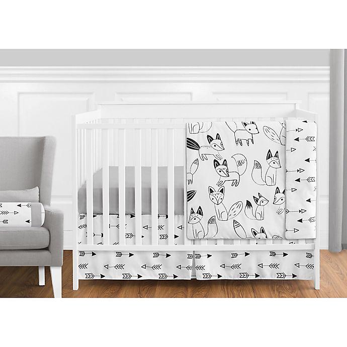 Alternate image 1 for Sweet Jojo Designs® Fox Crib Bedding Collection