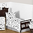 Part of the Sweet Jojo Designs Fox Toddler Bedding Collection