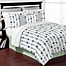 Part of the Sweet Jojo Designs Mod Arrow Bedding Collection in Grey/Mint