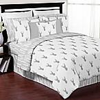 Sweet Jojo Designs Stag 3-Piece Full/Queen Comforter Set in Grey/White