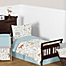Part of the Sweet Jojo Designs Woodland Toile Toddler Bedding Collection