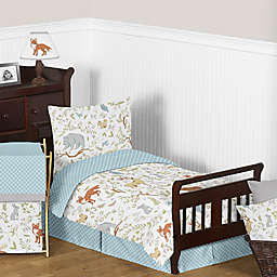 Sweet Jojo Designs Woodland Toile Toddler Bedding Collection