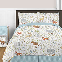 Sweet Jojo Designs Woodland Toile Bedding Collection