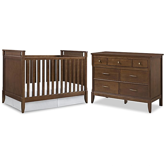 Baby Relax Alvar Nursery Furniture Collection in Walnut | Bed Bath ...