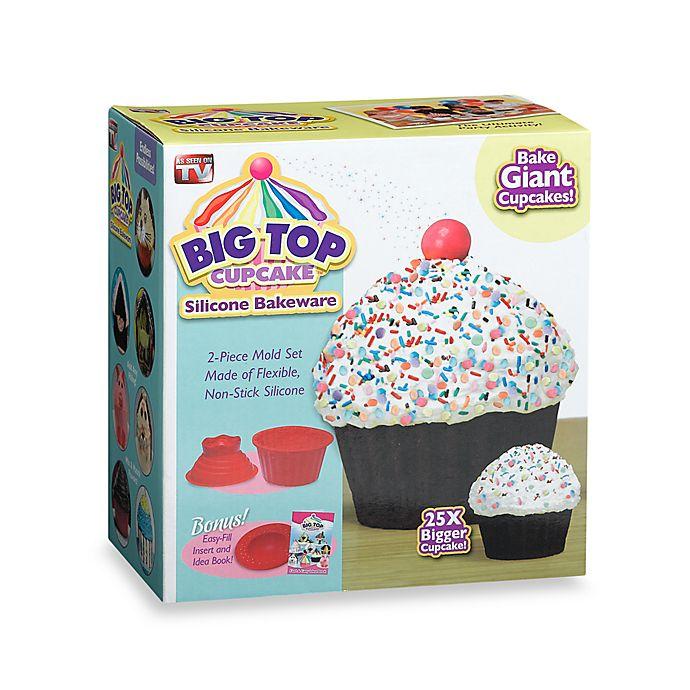 Big Top Cupcake Silicone Bakeware Bed Bath Beyond