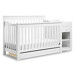 DaVinci Piedmont 4-in-1 Crib and Changer Combo in White