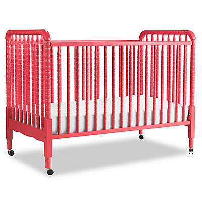 DaVinci Jenny Lind 3-in-1 Convertible Crib with Toddler Bed Kit in Coral