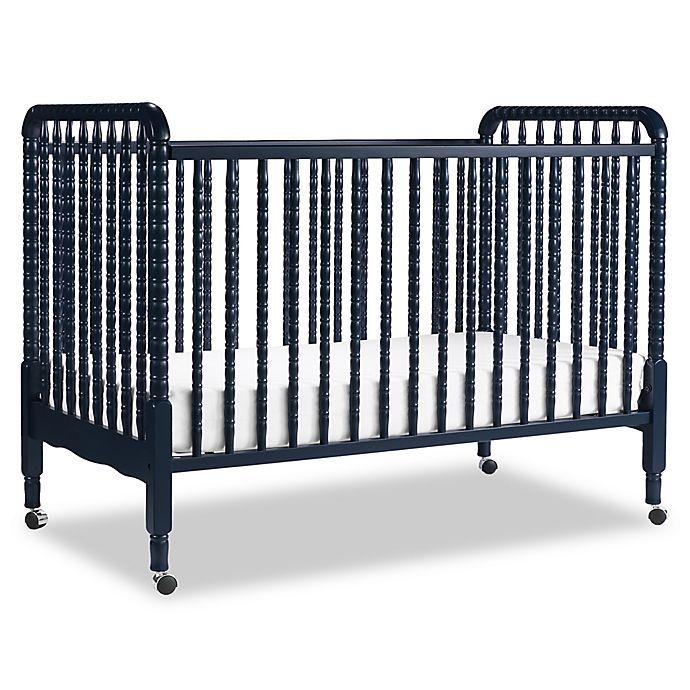 Alternate image 1 for DaVinci Jenny Lind 3-in-1 Convertible Crib in Navy