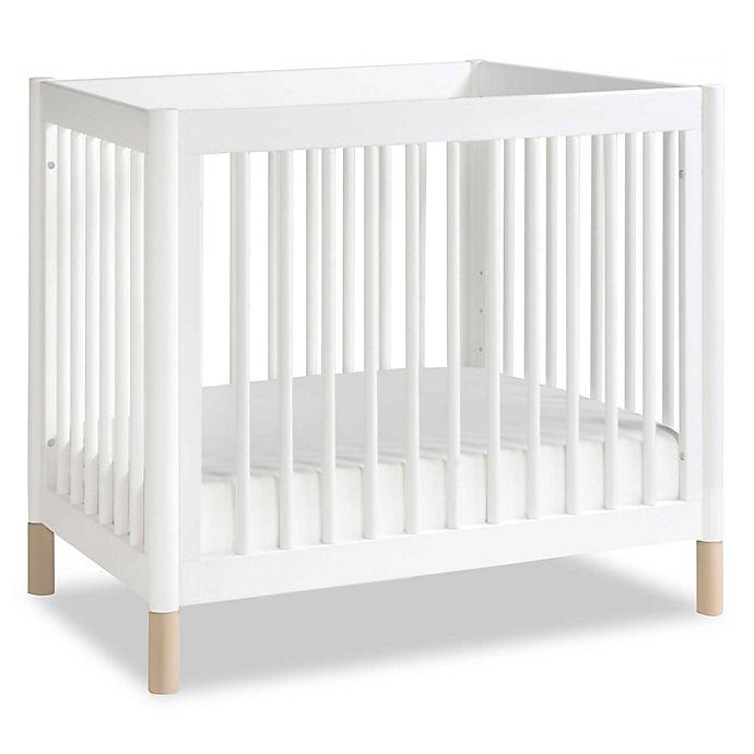 Alternate image 1 for Babyletto Gelato 2-in-1 Mini Crib/Twin Bed in White