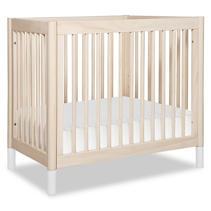 Alternate image 1 for Babyletto Gelato 2-in-1 Mini Crib/Twin Bed in Natural
