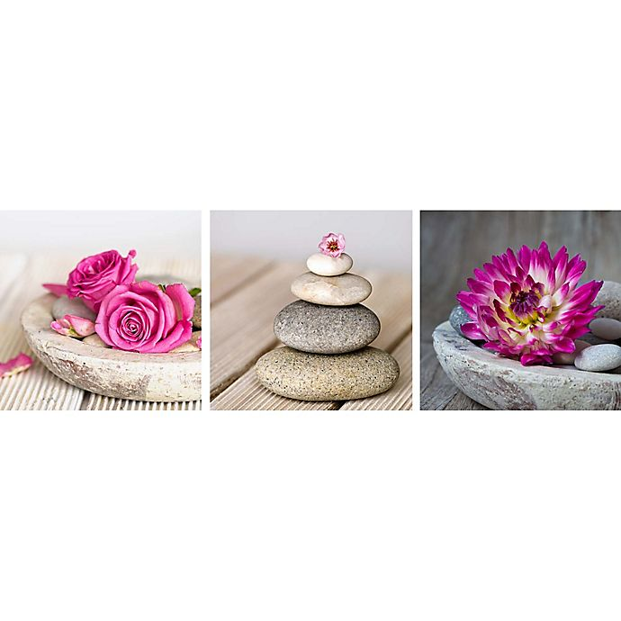 Alternate image 1 for Arthouse Spa Montage Wall Canvases (Set of 3)
