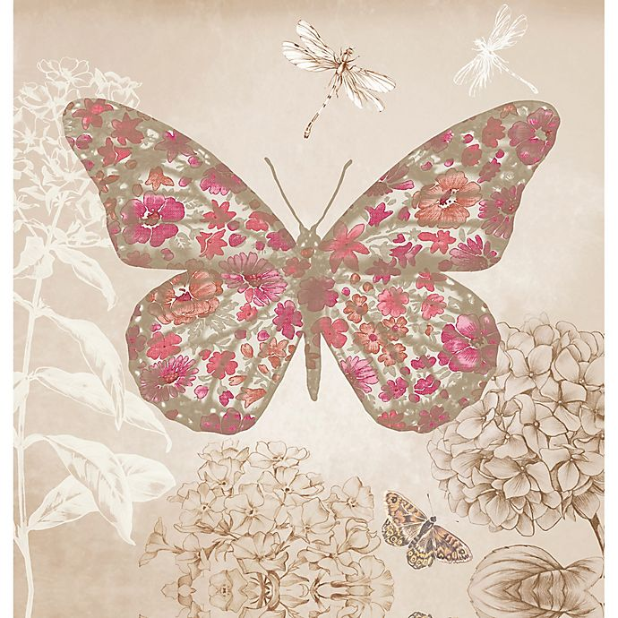 Alternate image 1 for Arthouse Enchanted Butterfly Foil Canvas