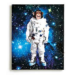 Imagine Fun Space Monkey Light Up Canvas Wall Art