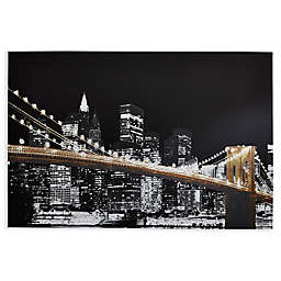 Arthouse Glitz City Embellished Canvas