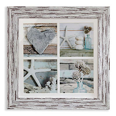 Arthouse Beachcomber Framed Montage Wall Art