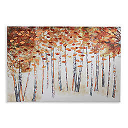 Arthouse Copper Birch Canvas Wall Art