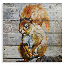 Arthouse Tufty Wood Canvas Wall Art