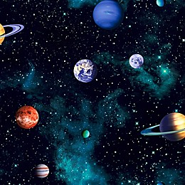Imagine Fun Cosmos Charcoal Wallpaper
