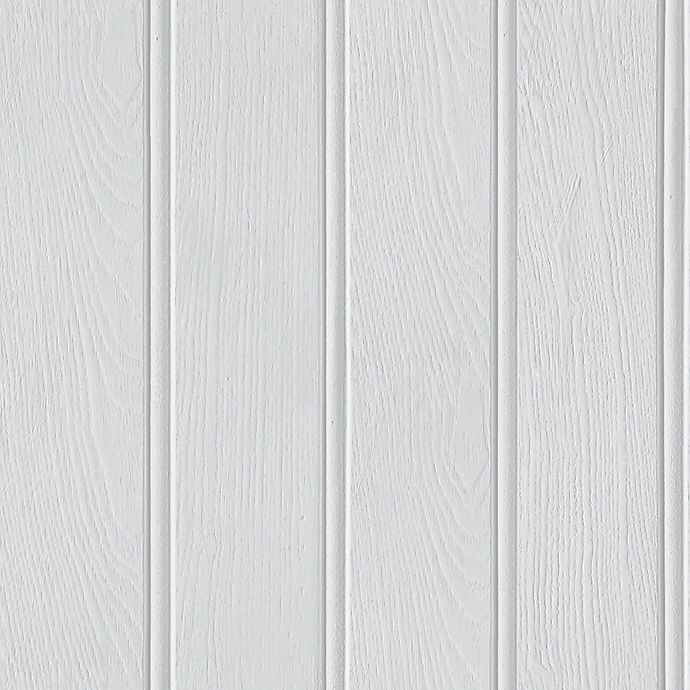 Alternate image 1 for Opera Tongue and Groove Wallpaper in Grey