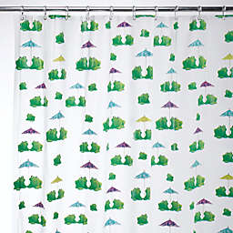 iDesign® Frogs EVA Shower Curtain