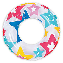 Pool Central Star 24-Inch Inner Tube Ring Float in Multicolor