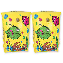 Pool Central 2-Pack Sea World Arm Floats in Yellow